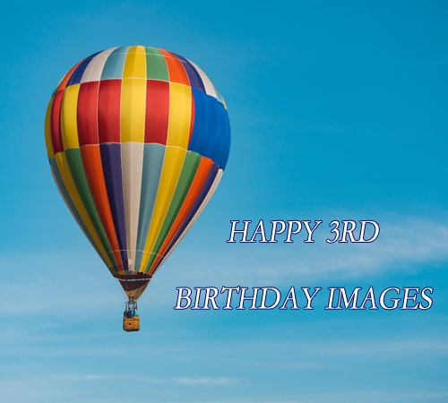 Ballon Happy 3Rd Birthday Images