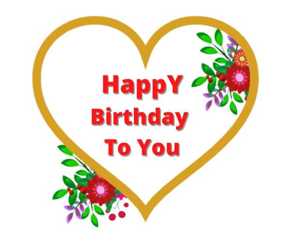 Beautiful Happy Birthday Images For Whatsapp
