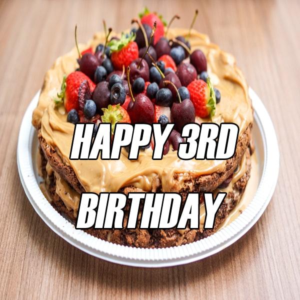 Best Happy 3Rd Birthday Images