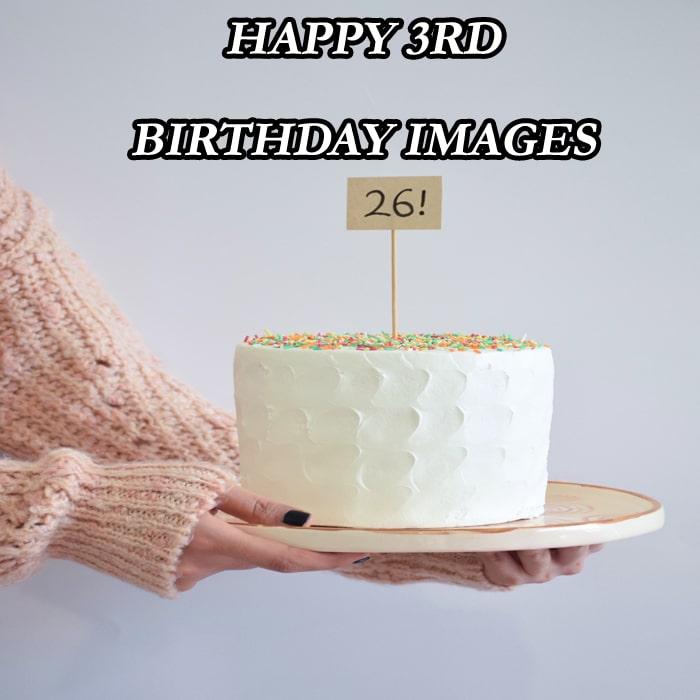 Cake Happy 3Rd Birthday Images