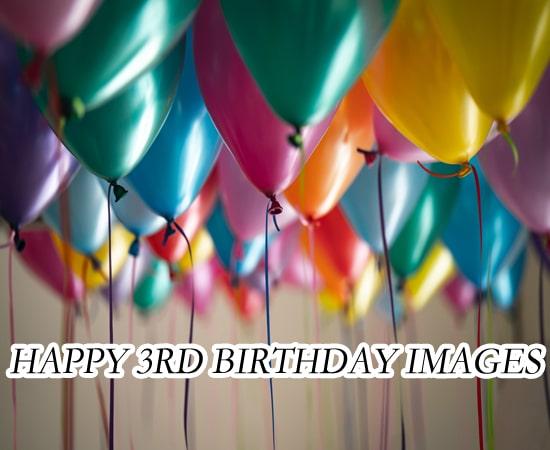 Happy 3Rd Birthday Images