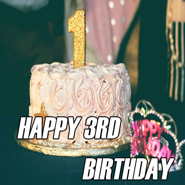 Latest Happy 3Rd Birthday Images