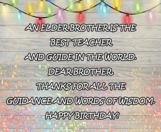 Popular Birthday Wishes Download for Brother