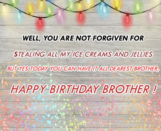 Top Birthday Wishes for Brother Free Download