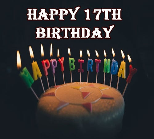 Happy 17Th Birthday Images HD Download