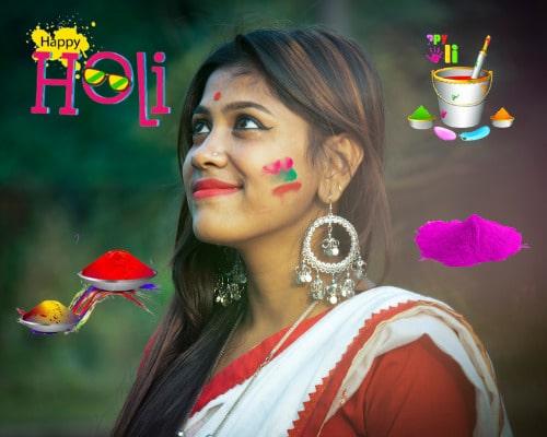Happy Holi Birthday Wishes Images