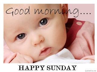 Happy Sunday Good Morning Photo For Whatsapp