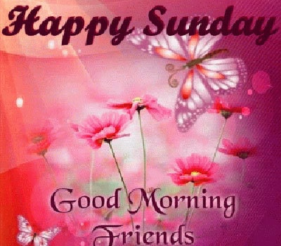Happy Sunday Good Morning Wishes Images For Whatsapp