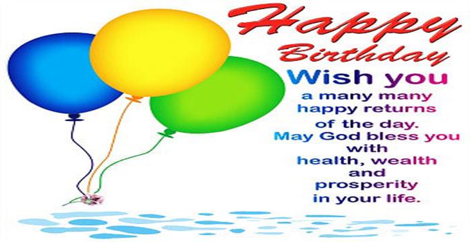 Beautiful Happy Birthday Wishes For Whatsapp