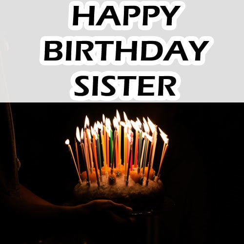 Best Happy Birthday Images Sister HD Download