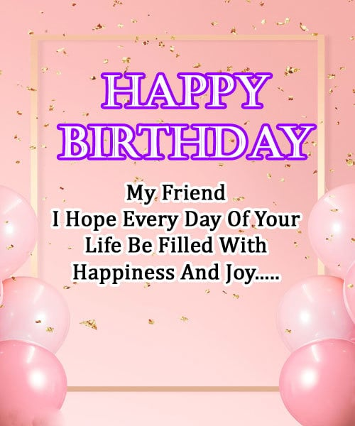 Download Happy Birthday Images For A Friend
