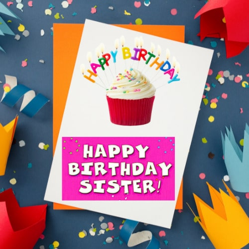 HD Happy Birthday Images For Sister