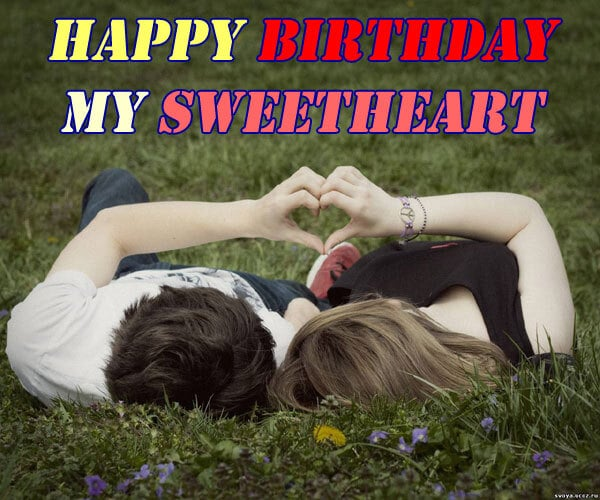 Romantic Happy Birthday Love Photo