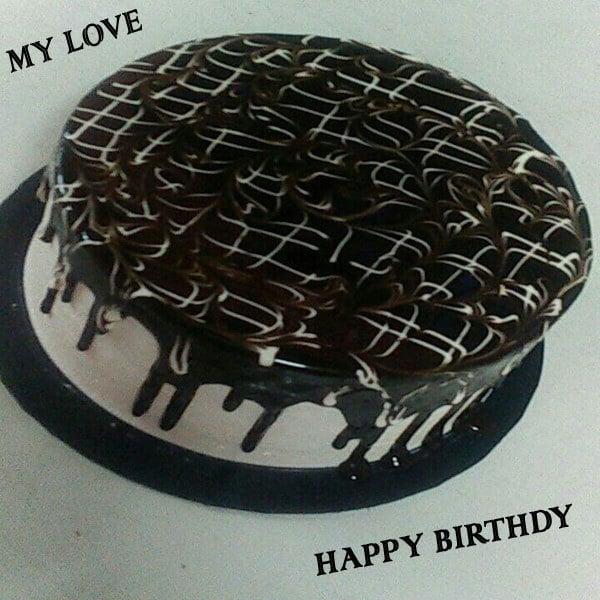 Romantic Happy Birthday Love Wishes Cake Images