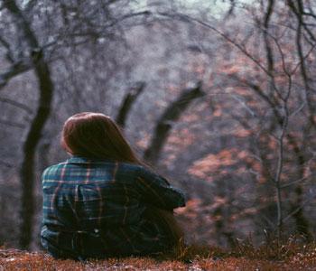 Alone Girl DP Photo