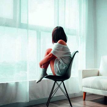 Alone Girl DP Wallpaper Download
