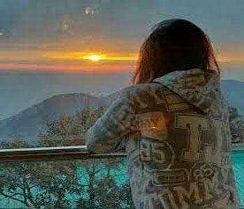 Alone Girl Whatsapp DP Photo