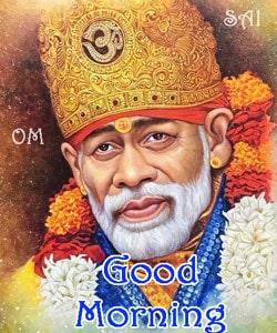 Sai Baba Good Morning Image