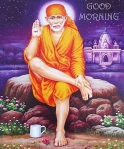 Sai Baba Gud Morning Photo