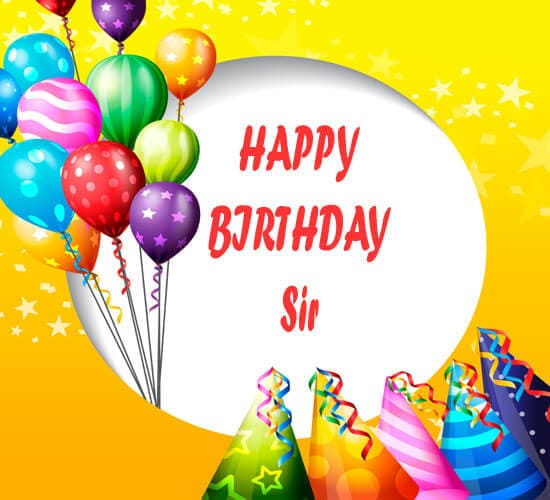 Download Happy Birthday Images sir