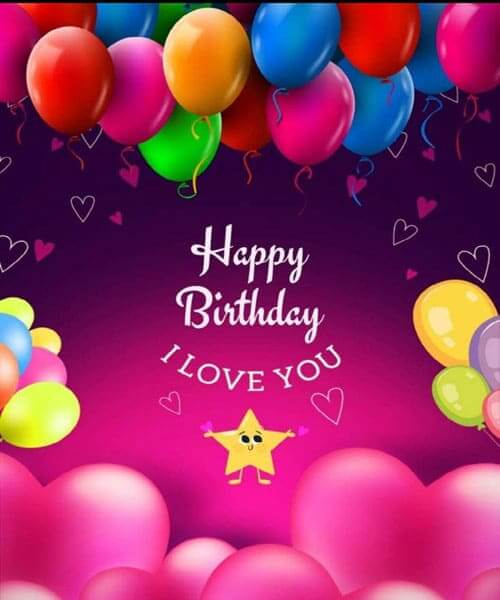 Happy Birthday Love Wishes Images