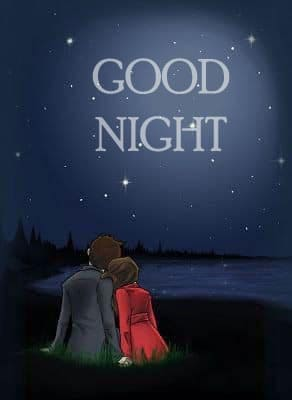 Love Romantic Good Night Images