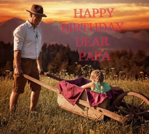 happy birthday papa wishes images for whatsapp