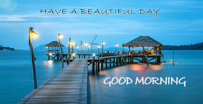 Beach Good Morning Images