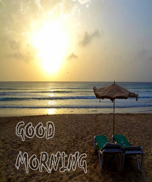 Best Good Morning Beach Images