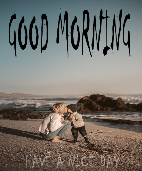 Good Morning Beach Images Download