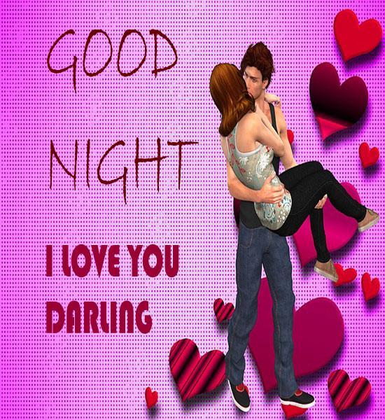 Good Night My Heart Beat Love Quotes Images