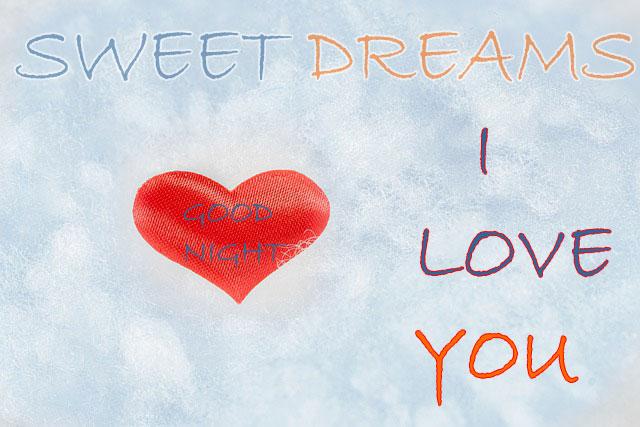 Good Night Sweetheart Wishes Photo