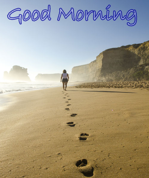 beach good morning images download
