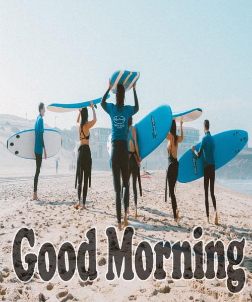 beautiful beach good morning