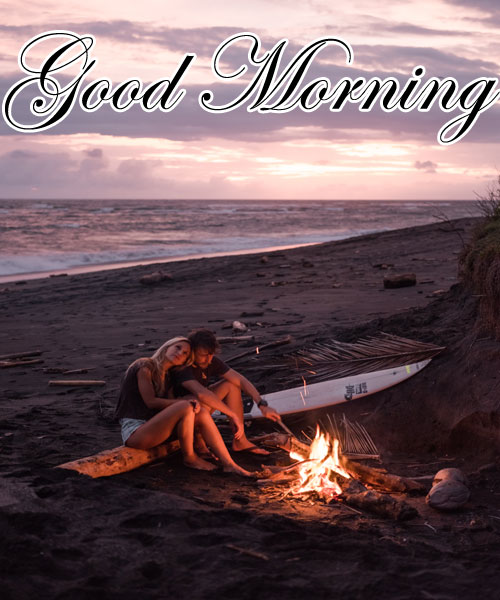 good morning beach images hd